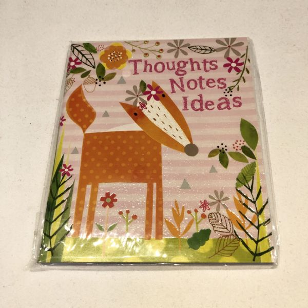 Thoughts, Notes & Ideas Notebook